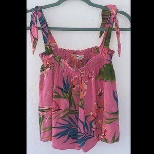 BILLABONG Pink Tropical Shirt!